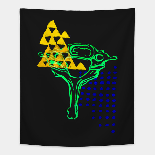 7th Cervical Vertebrae 2 Gothic Fashion Tapestry Teepublic