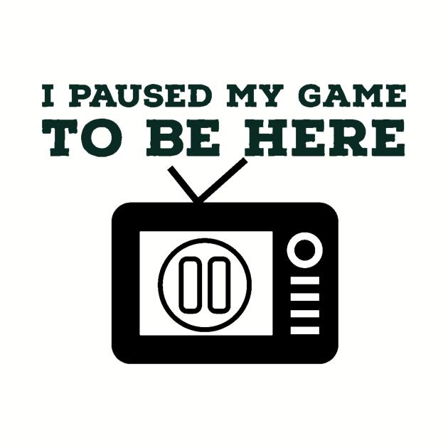 I paused my game/gaming meme #1
