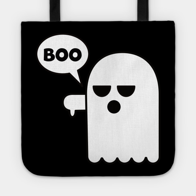 45178d1fbd Funny Halloween Booing Ghost Thumbs Down - Boo Ghost Halloween ...
