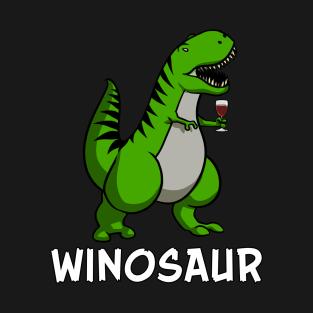 a3bc6dcf6b02d4 Winosaur T-Rex Dinosaur Wine Lover Funny T-Shirt