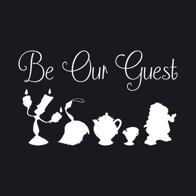Be Our Guest - Castle Staff (White)