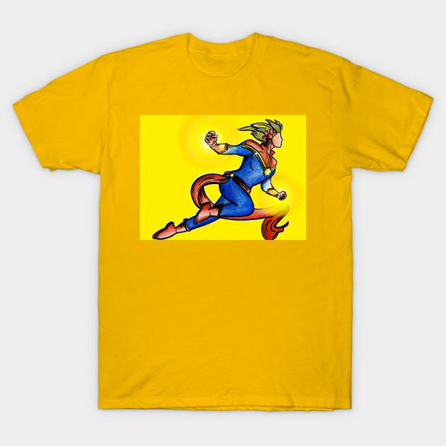 bc6da0b3d234 Captain marvel design- Carol Danvers - Captain Marvel - T-Shirt ...