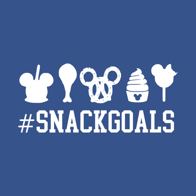 8326f78f4 Snack Goals - Disney World - Kids T-Shirt | TeePublic