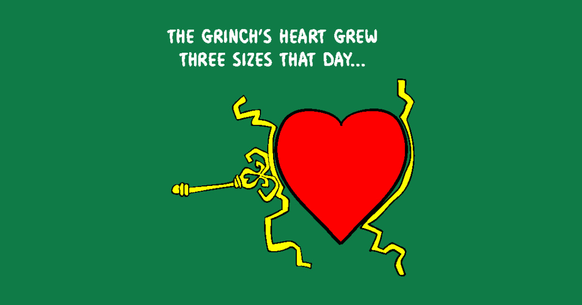Grinch's Heart Grew - The Grinch Who Stole Christmas ...