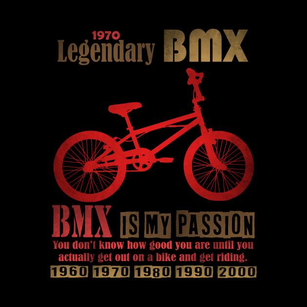 Legendary BMX T Shirt design freestyle BMX Legend
