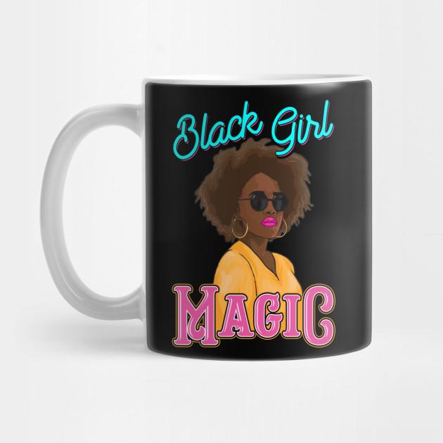 Afro Mug Melanin Mug Black Girl Magic Melanin Gift American Black Woman Mug