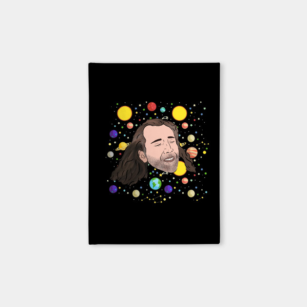 Nick Cage in Space