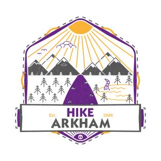 Hike Arkham t-shirts