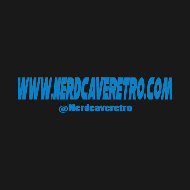 """Nerd Cave Retro """"Album Cover"""" Design"""