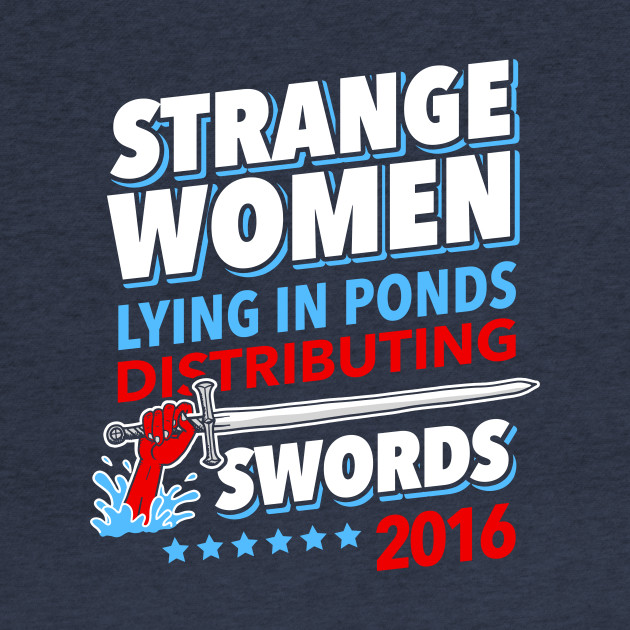 Strange Women Lying In Ponds Distributing Swords 2016