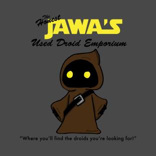 The Honest Jawa's Used Droid Emporium t-shirts