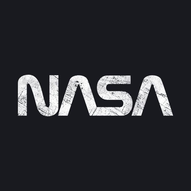NASA Vintage Emblem 1975-1992 - Silver Edition