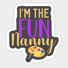 Gift Ideas For Nanny Stickers