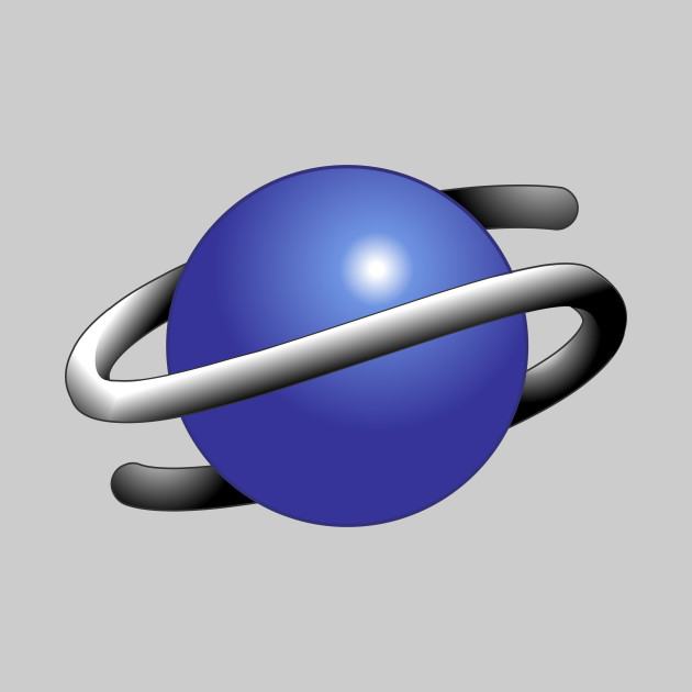 Saturn Icon Logo