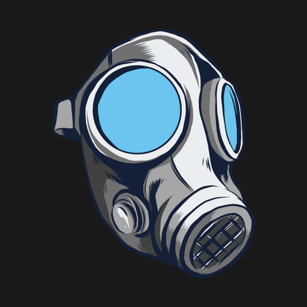 Floral Gas Mask