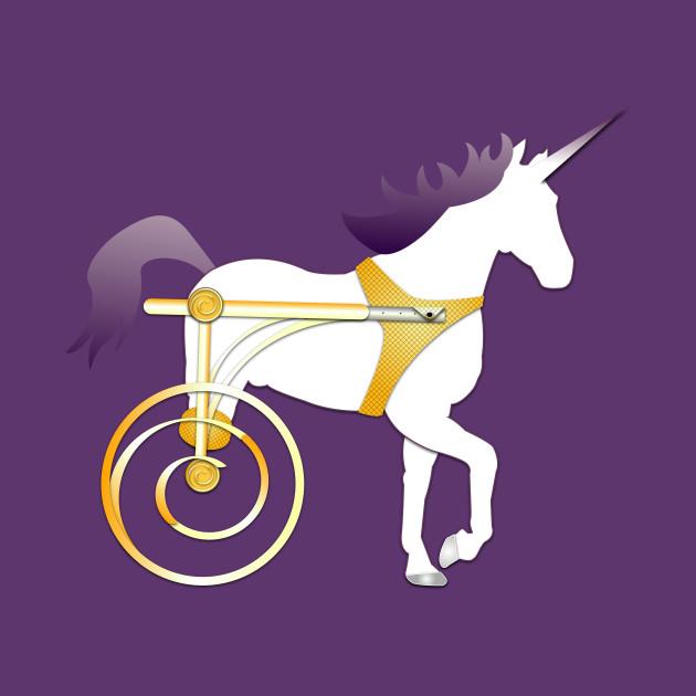 Unicorn On Wheels