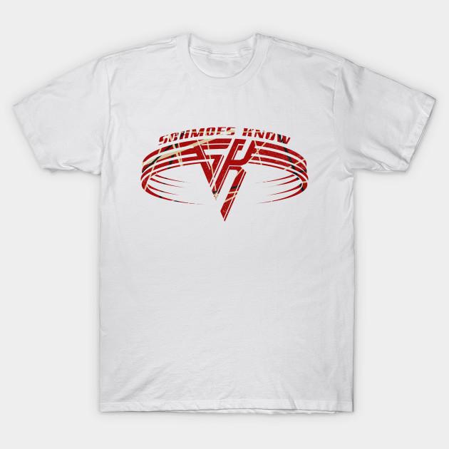 3ea87872c01 SCHMOES VAN HALEN - Chuck Berry - T-Shirt