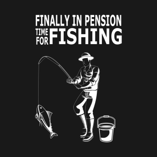 Main Tag Funny Fishing Gifts T-Shirt