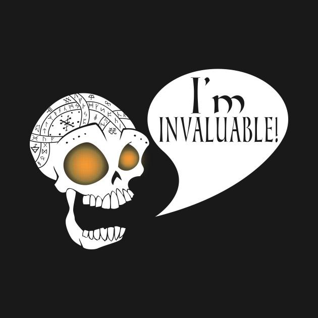 Dresden Files - Bob the Skull Poster