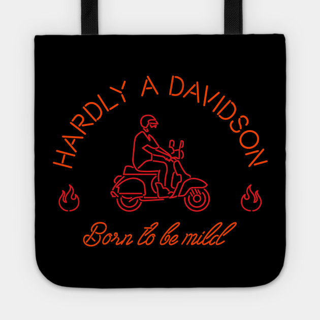 db2cf541a Harley Davidson Funny Parody - Scooter - Tote | TeePublic