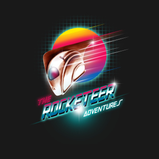 The Rocketeer Adventures t-shirts