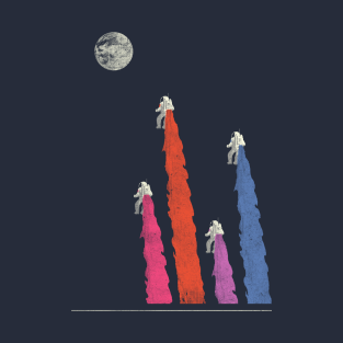 Space Race t-shirts