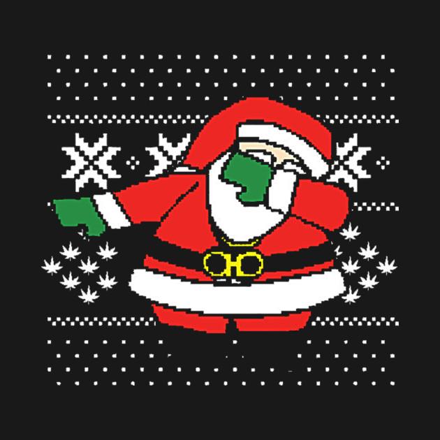 Dabbing Santa Ugly Christmas