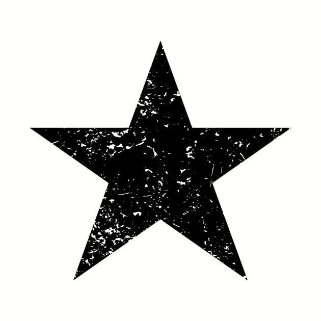Black Star Emoji