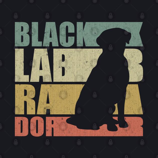 Labrador Mom -  Funny Retro Black Labrador Lover Gift