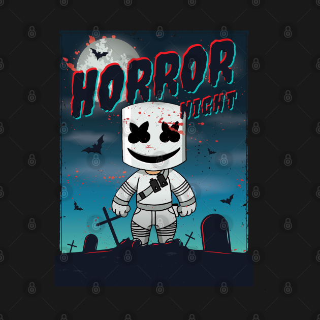 Horror Night Marsh