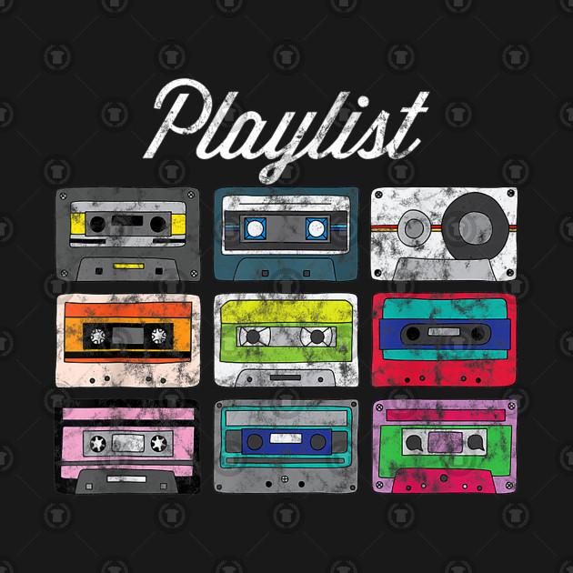 Old School Hip Hop Dj Mixtape Vintage Retro Cassette T-Shirt