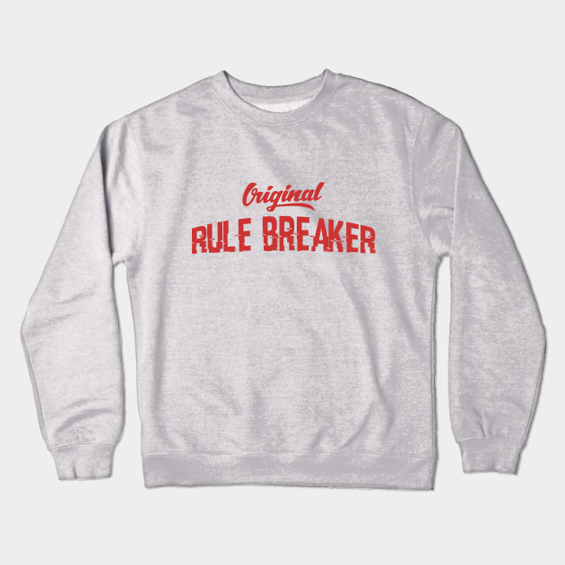 8589b6bc1634 Rebel Vintage Style Rule Breaker Red Gifts - Rules For Life ...