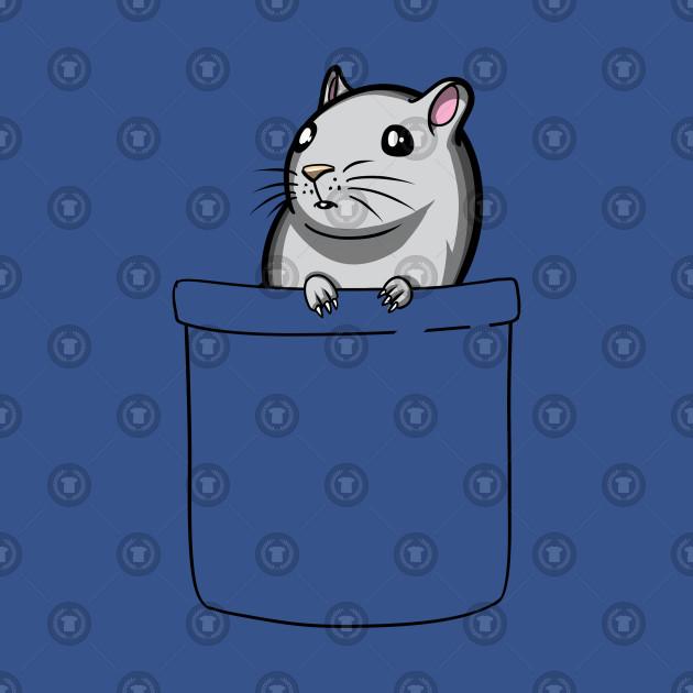 Gerbil Pocket Cute Pet Hamster