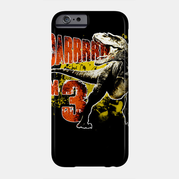 3rd Birthday Gift 3 Year Old Boys Dinosaurs Present Phone Case