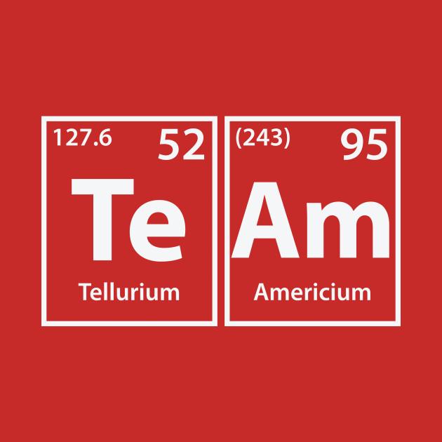 Team (Te-Am) Periodic Elements Spelling