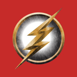 The Flash - Distressed t-shirts