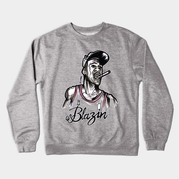 e94351817417 Michael Air Jordan Blazin - Michael Jordan - Crewneck Sweatshirt ...