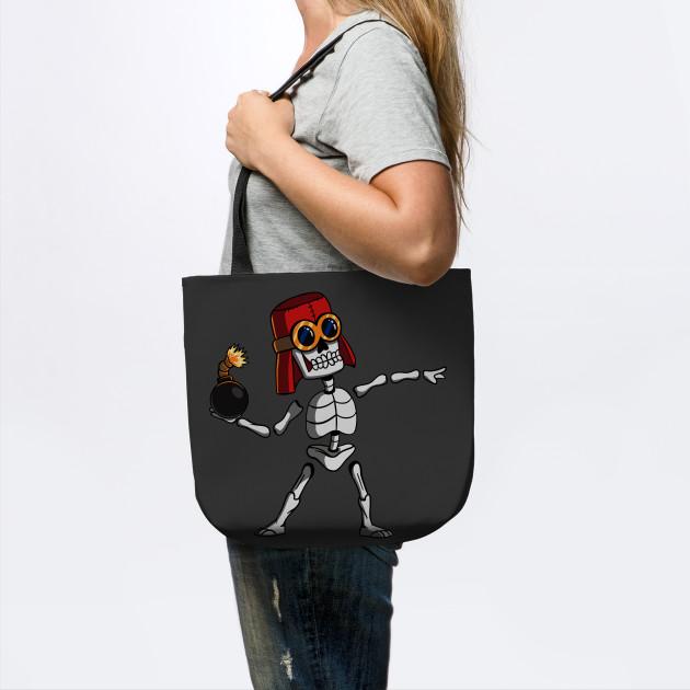 Skeleton Banksy