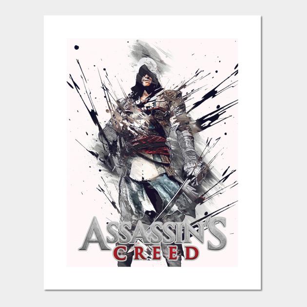 Assassins Creed Retro 7 Assassins Creed Posters And Art Prints Teepublic