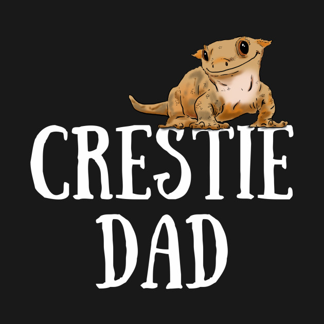 Crested Gecko Dad Crested Gecko Guy Gecko Lover Gecko T Shirt