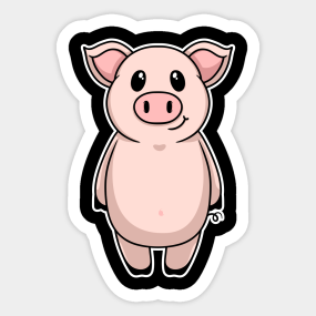 Pig Owners Stickers | TeePublic