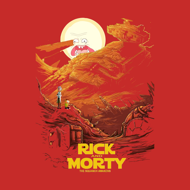 Rick Morty Star Wars