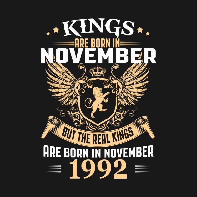 Legends are Born in November 1992