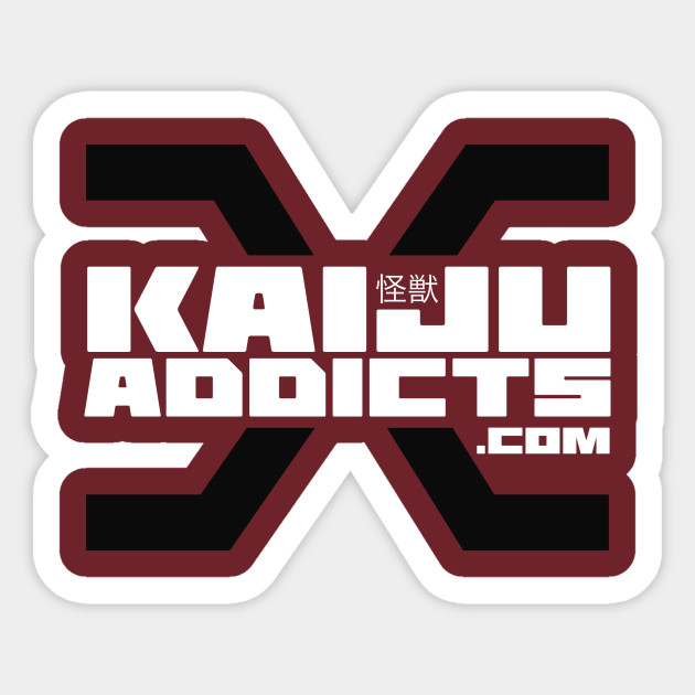 Kaiju Addicts X Logo Dark T-Shirt