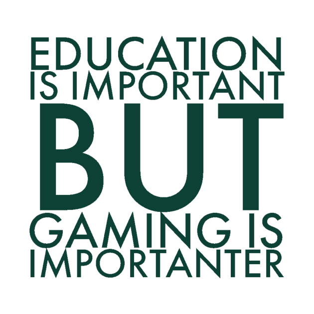 Education is important/gaming meme #1