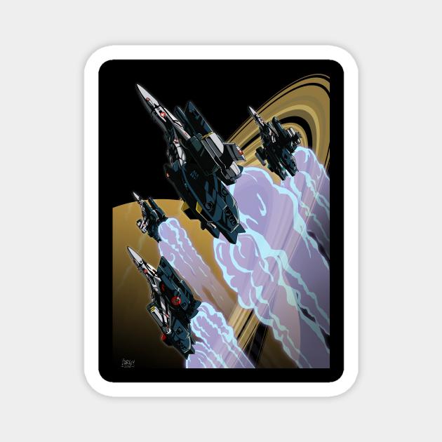 Skull Squadron over Saturn