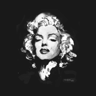 d715429297ab4 Marilyn Monroe Illustration T-Shirts