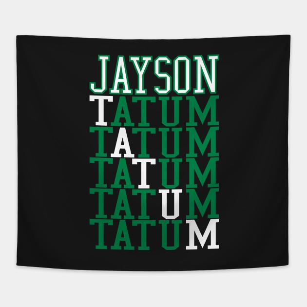 Jayson Tatum Word Art