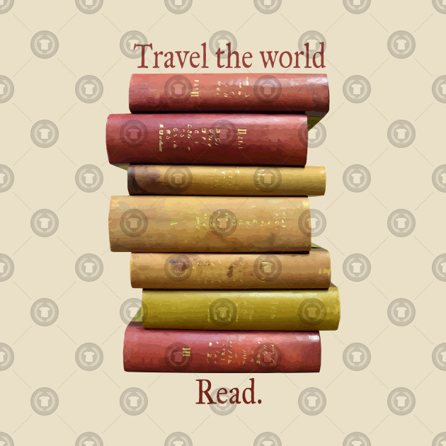 Travel the World Read Book Lovers