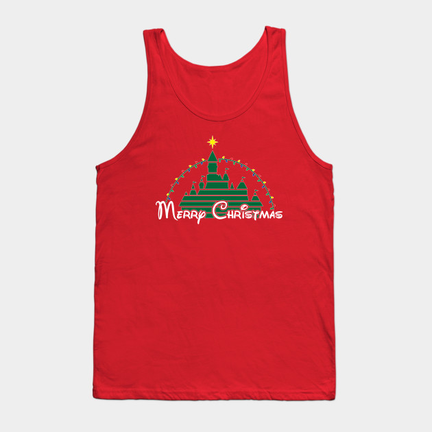 Merry Christmas at the happiest place on earth Tank Top
